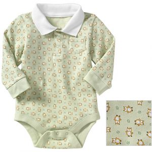 Baby Polo Bodysuit 1