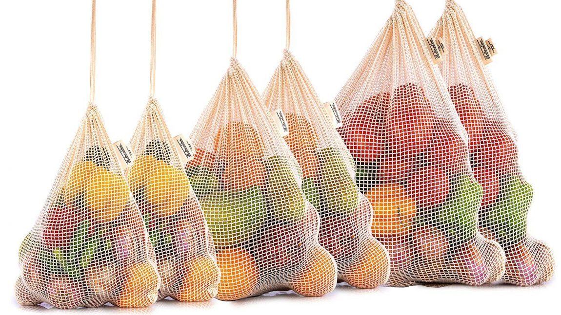 Wholesale Organic Reusable Mesh Produce Bags